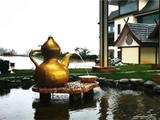 六大茶山绝美下雨天 雨天观景喝茶两不误