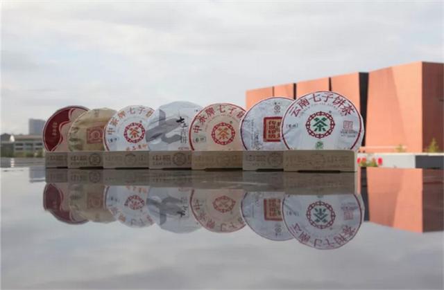 中茶普洱丨对月当歌,茶也迷人
