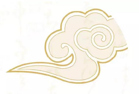 祥云是中国古代吉祥云纹.