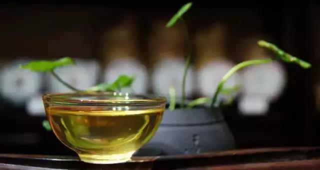 普洱茶上面有一层油物,这是买到了劣质茶吗?