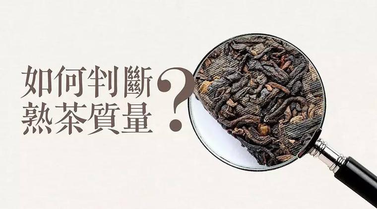 怎么简单判断你生活中遇到的每一款熟茶质量好坏?