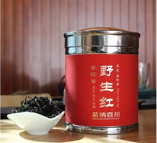 茗纳百川单株野生红茶
