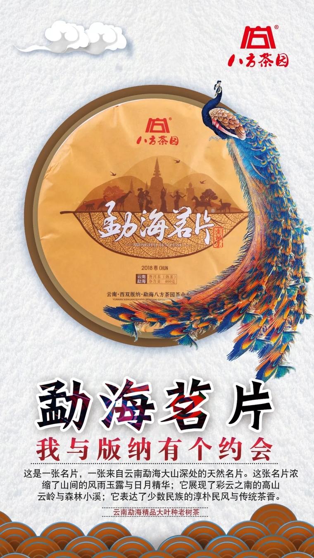 八方茶园勐海茗片熟茶
