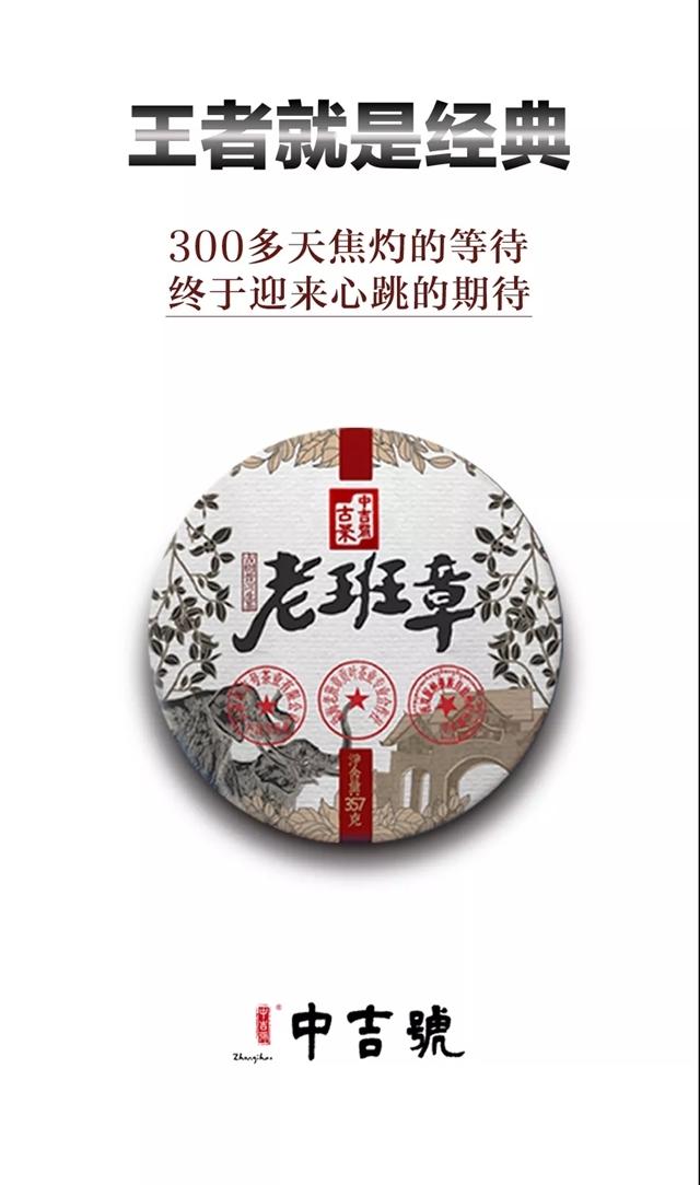 广州茶博会第三日中吉号老班章,绝不可错过~
