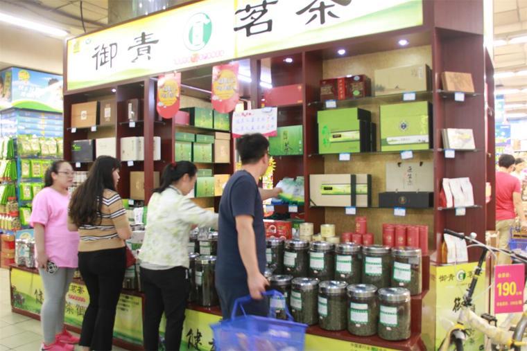 日照御青茶叶销售旺,绿茶受青睐!