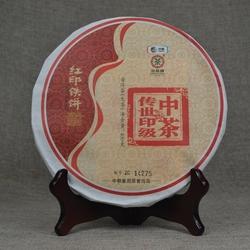 最爱那一抹中国红——红印铁饼