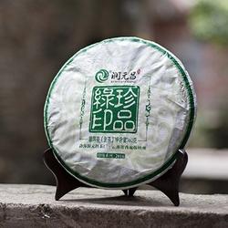班章茶究竟是什么味?喝过润元昌珍品绿印你就明白了