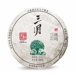 福元昌2019年春茶三月拔玛100克生茶【特惠预售中】