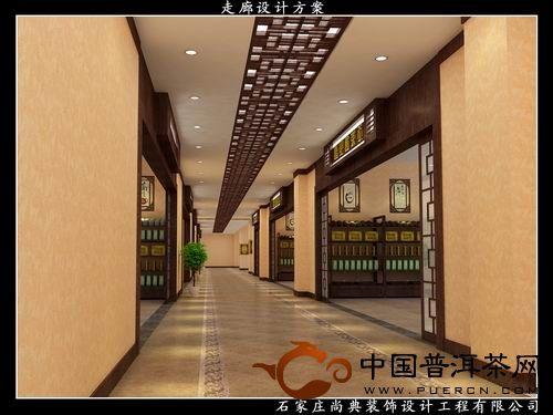 福建茶城 茶城 走廊