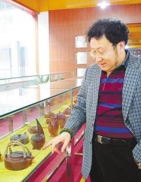 收藏狂人 孙永忠 紫砂壶博物馆