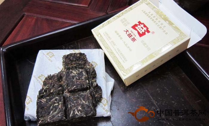2011大益大益福禄寿喜珍藏方砖