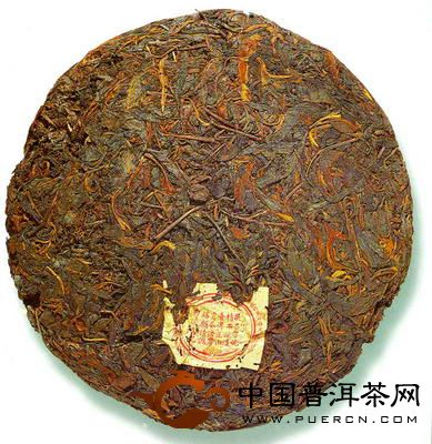 敬昌号茶庄的七子饼茶