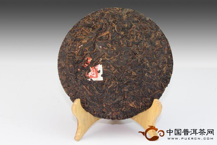班章古树普洱茶正面