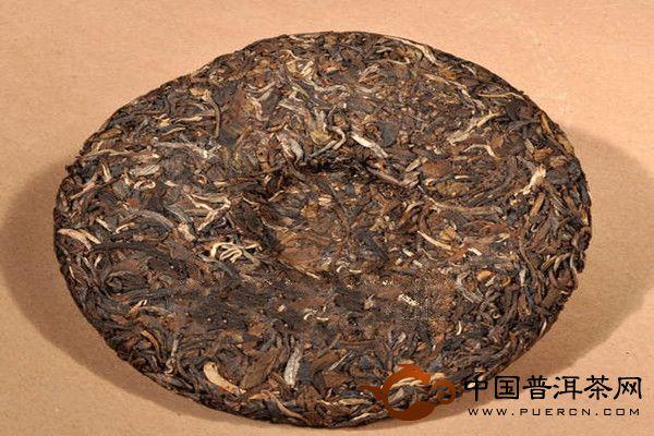 班章雨前春357g老曼峨普洱茶