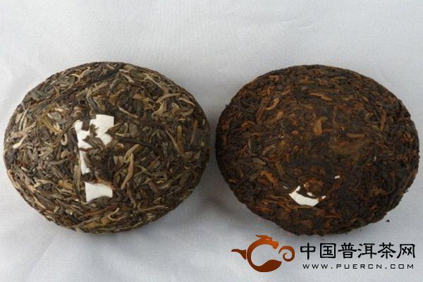 金枝玉叶 勐海班章茶厂2011年老曼峨普洱茶