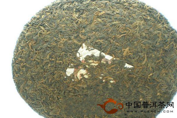 大经典2009年老曼峨普洱茶 勐海班章茶厂
