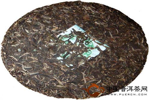 乔木纯香 勐海班章茶厂2009年老曼峨普洱茶