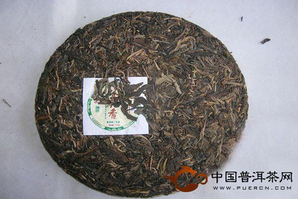 谷花香 2007年老曼峨普洱茶
