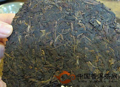 70年代勐海茶厂小黄印七子饼茶
