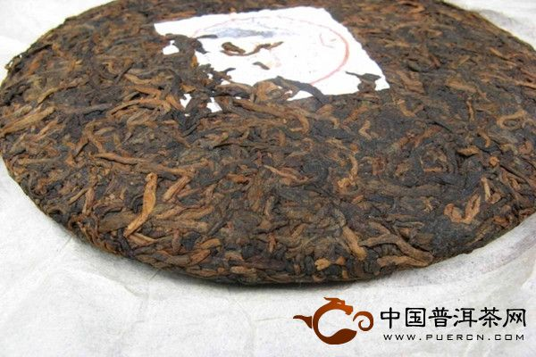 勐海白金号 2009年老曼峨普洱茶