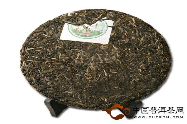 春毫 2011年老曼峨普洱茶