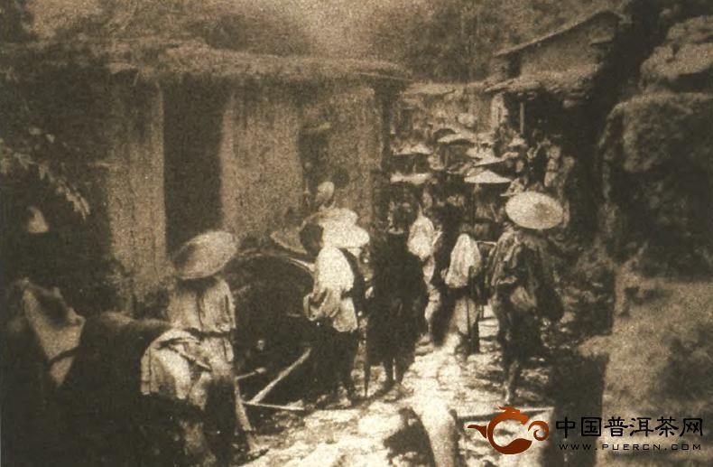 普洱茶清代后期的坎坷发展路