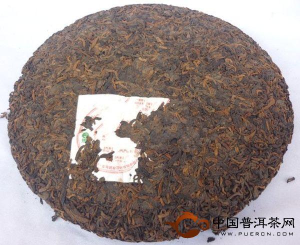 老曼峨普洱茶纪念饼