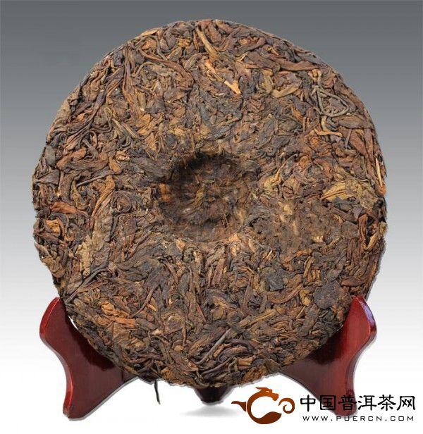 大益普洱茶中茶牌红印大黄片