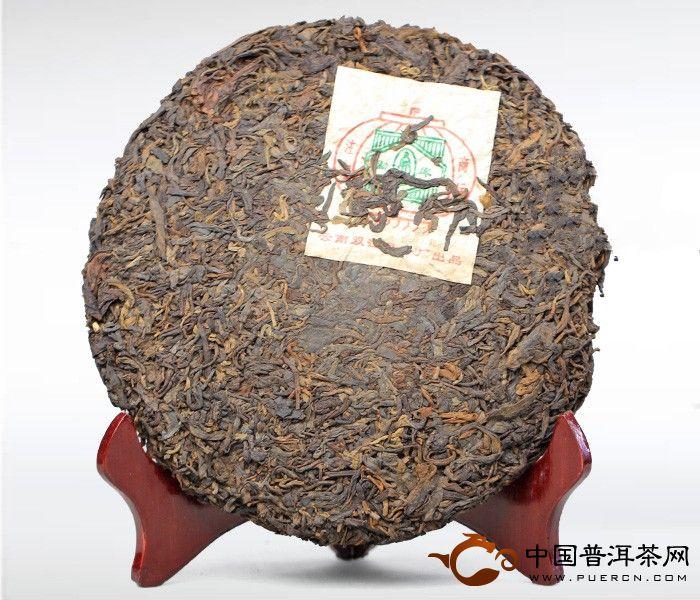 大益普洱茶勐库青饼