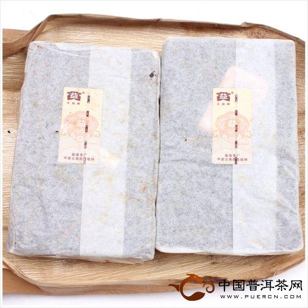 2006勐海茶厂大益普洱茶笋壳砖茶