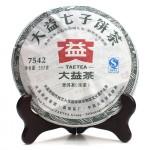 2010勐海茶厂大益普洱茶7542