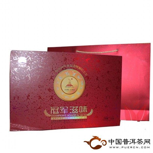 2010勐海茶厂大益普洱茶冠军滋味