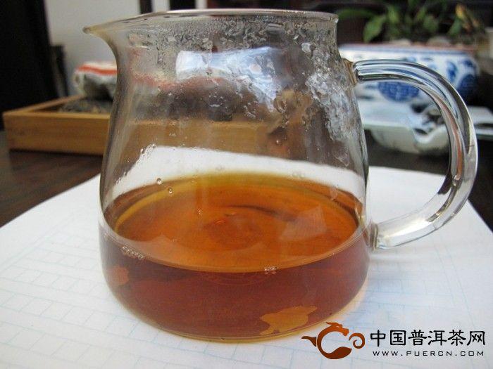 2003年中茶雨前春尖4