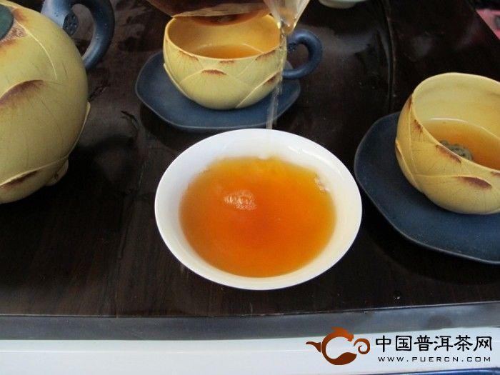 2003年中茶雨前春尖5