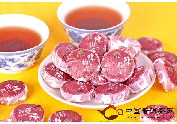 05年新益号陈韵沱 迷你小沱茶