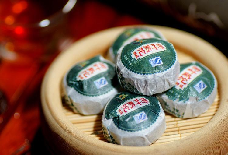 11年龙宝茶厂新益号普洱茶特级荷叶普洱熟茶