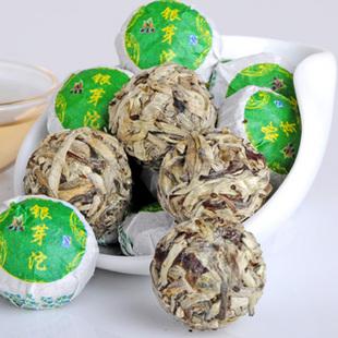 2011年龙宝茶厂新益号极品银芽沱
