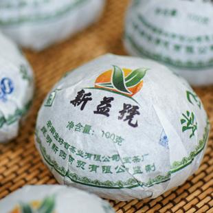 2010年龙宝茶厂新益号普洱茶普洱生沱