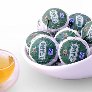 2010年龙宝茶厂新益号普洱茶特级原味生沱