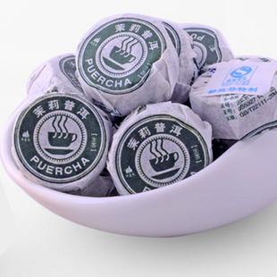 2010年龙宝茶厂新益号普洱茶醇味茉莉