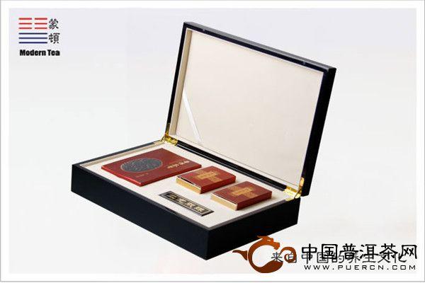 2011蒙顿茶制品蒙顿普洱茶膏:二龙戏珠