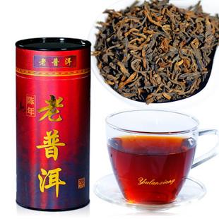 2012年龙宝茶厂新益号普洱茶陈年老普洱