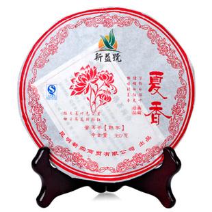 2011年龙宝茶厂新益号普洱茶夏香