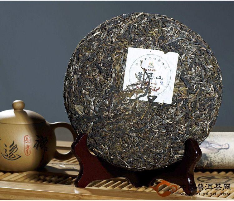 景迈山百年古树茶