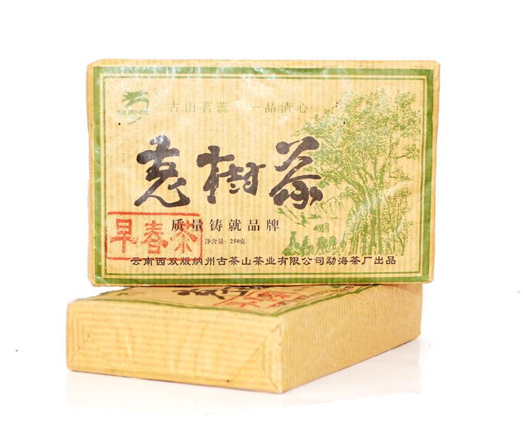 2006年龙园号普洱茶勐海龙园茶厂老茶树砖