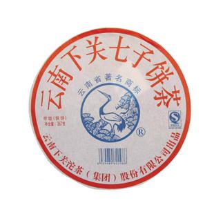 2010年下关茶厂下关云南七子饼茶