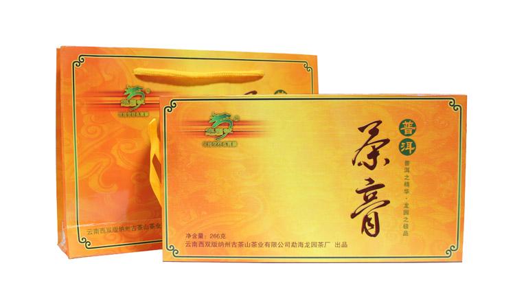 2011年龙园号普洱茶勐海龙园茶厂普洱茶膏