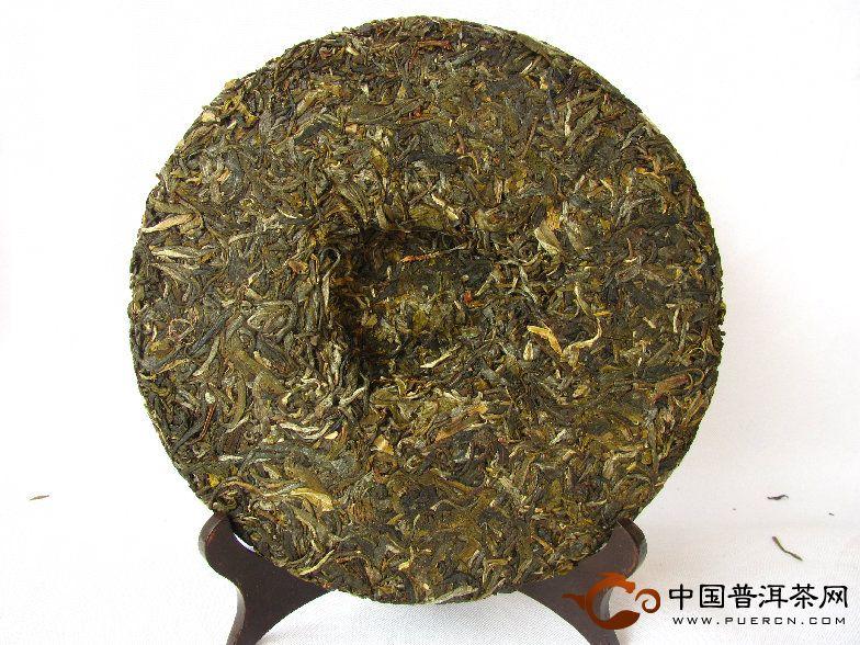 中茶牌历程饼生饼
