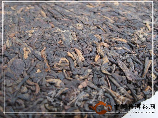 中茶牌55周年中茶牌圆茶