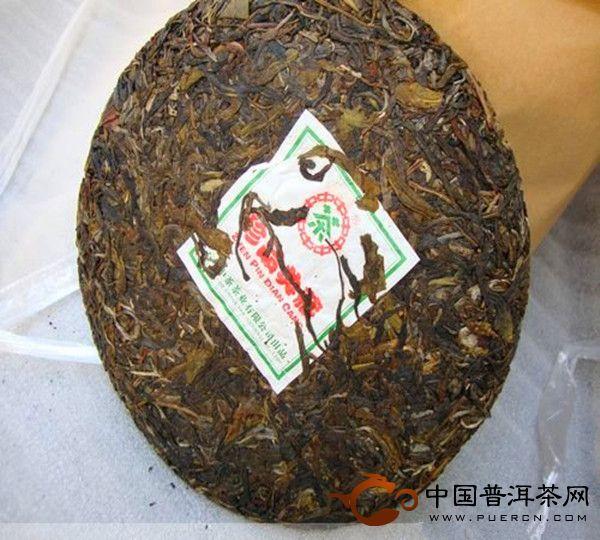 中茶牌七子饼珍品典藏